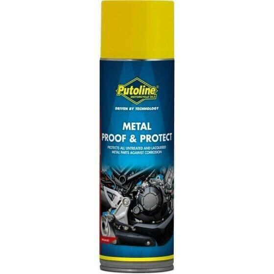 Putoline Metal Proof & Protect Motorcycle Motorbike Anti Corrosion Spray - 500ml